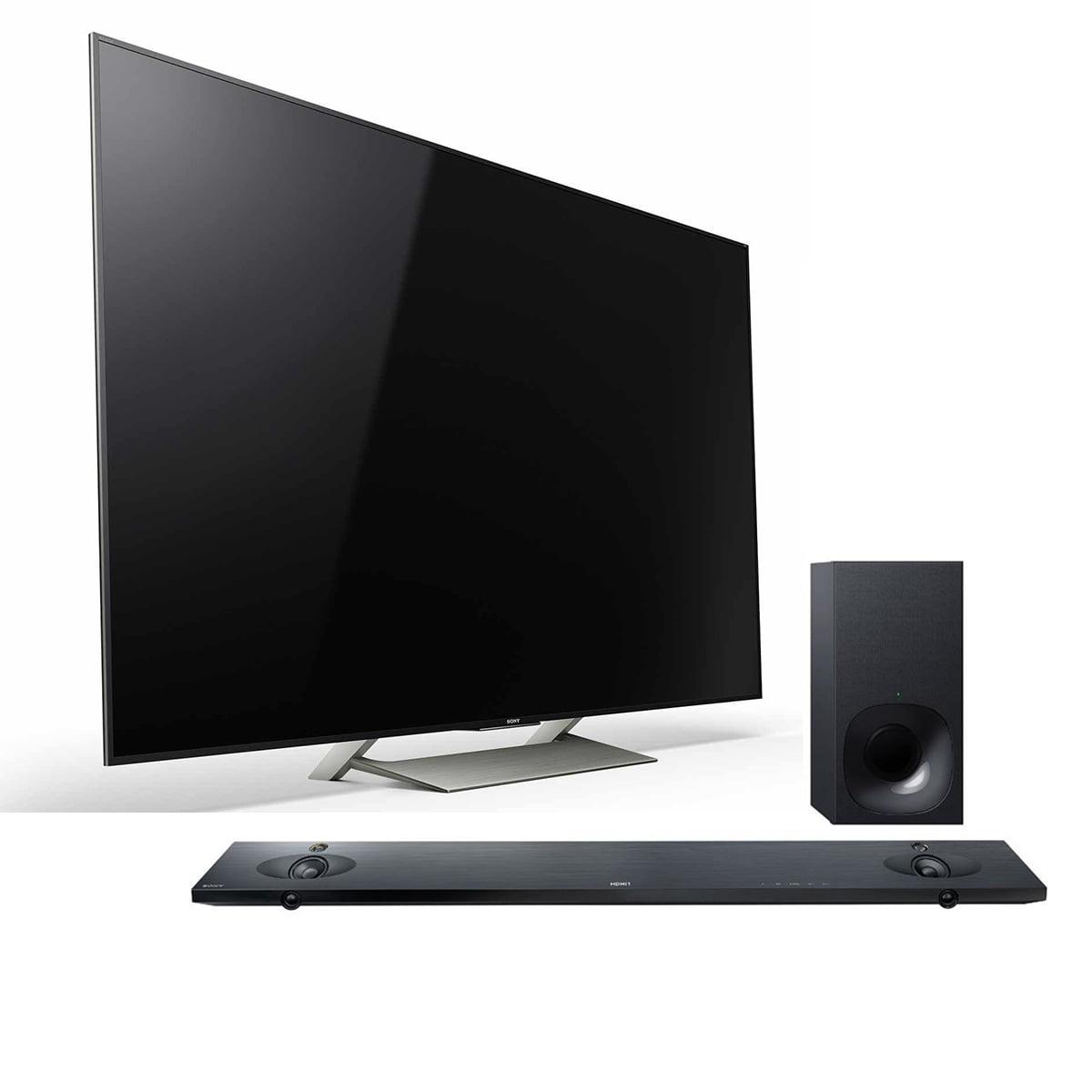 "Sony XBR-65X900E 65"" 4K Ultra HD LED Smart TV with Wi-Fi ..."
