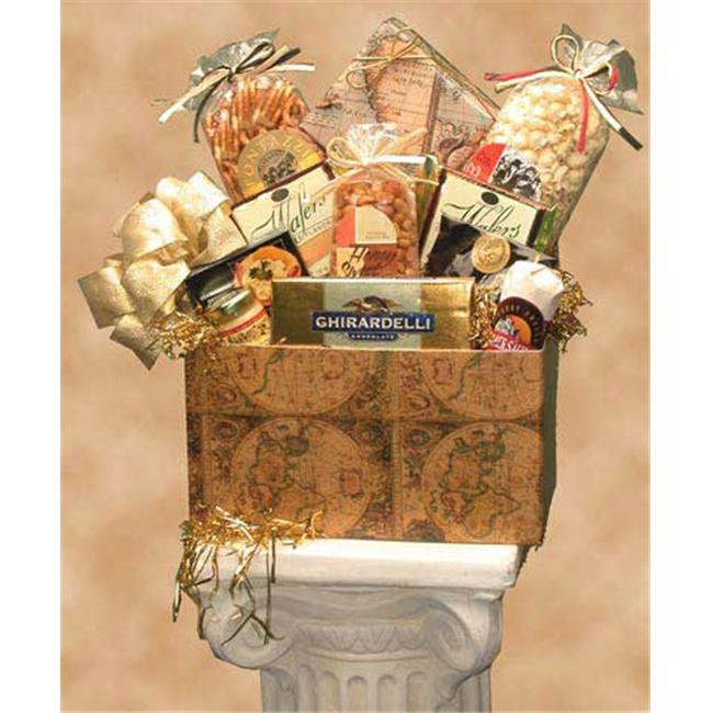 Gift Basket 82041 Large Classic Globe Gift Box old World Charm by SOAP & SALVE COMPANY