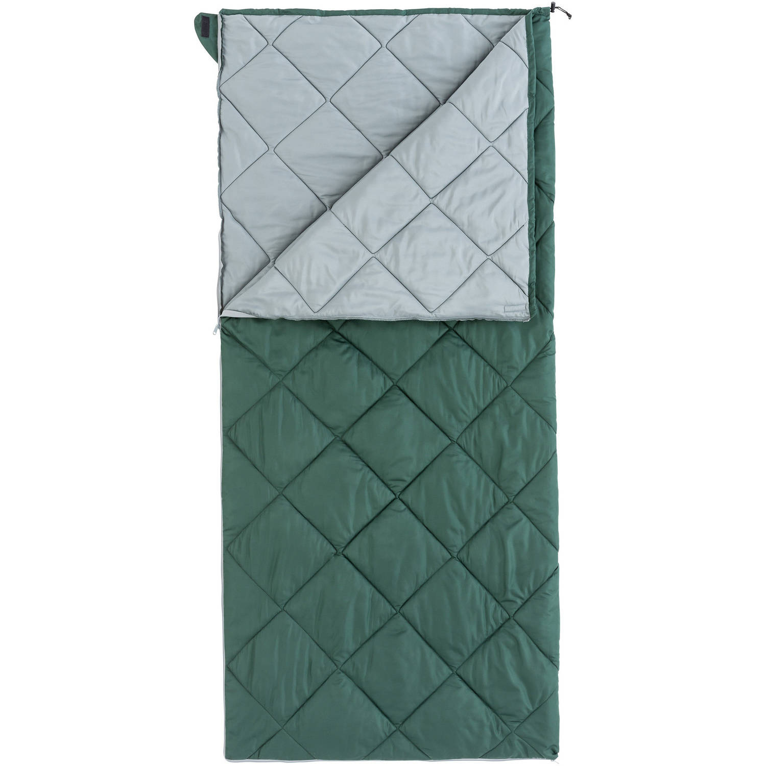 Ozark Trail XL Deluxe 30-Degree Cold Weather Sleeping Bag, Green