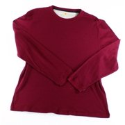 Club Room NEW Red Cherry Wine Mens Size 2XL Crewneck Thermal Tee T-Shirt