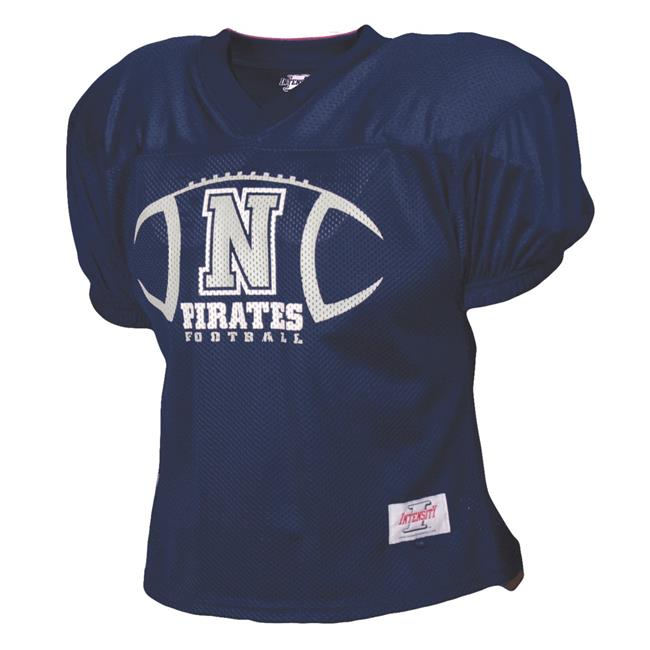 Intensity N3220Y410XLG Youth Football Practice Jersey, Navy - Extra Large