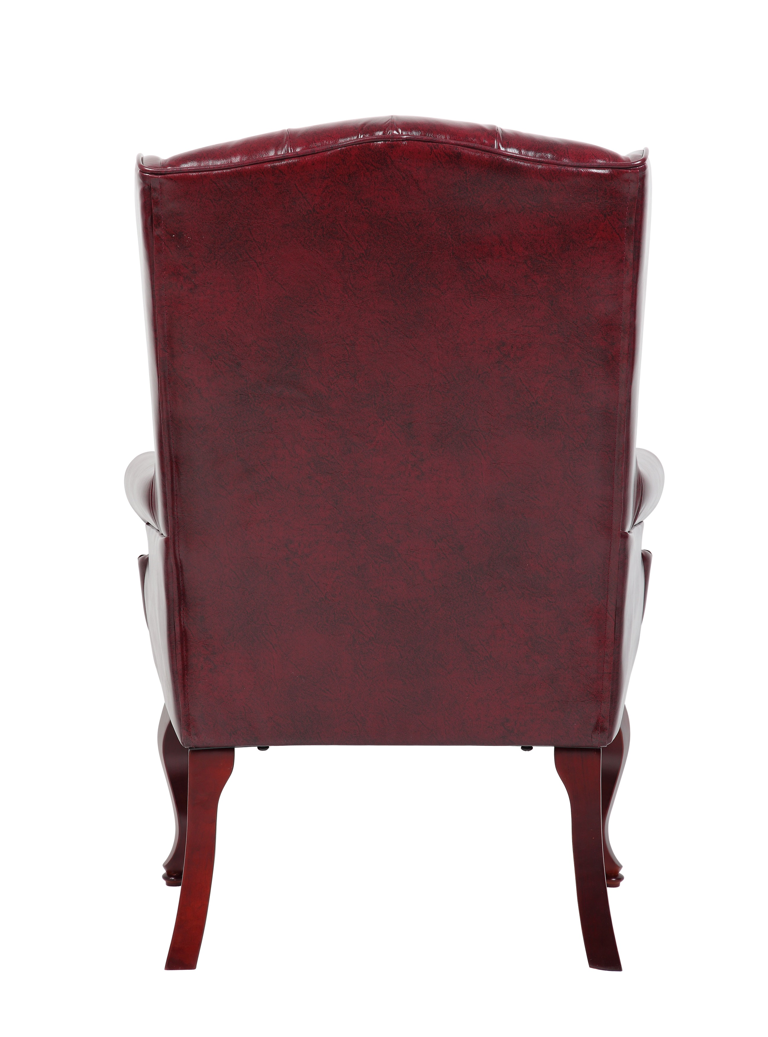 Boss fice Products Burgundy Traditional Style Executive Guest