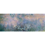 "Trademark Fine Art ""Water Lilies"" 1914-22 Canvas Art by Claude Monet"