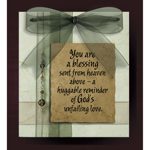 "Plaque-Bangles & Bows-You Are A Blessing (Easel Backed) (7"" x 8"")"