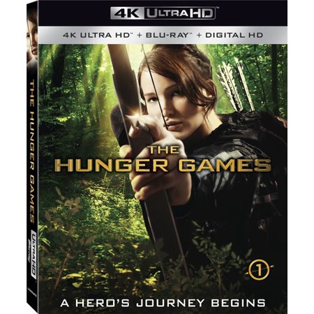 The Hunger Games (4K Ultra HD + Blu-ray + Digital HD)](Hunger Games Plates)
