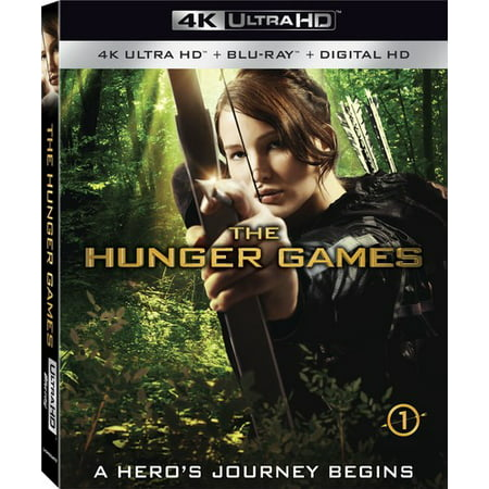 The Hunger Games (4K Ultra HD + Blu-ray + Digital HD) - Hunger Games Themed Games