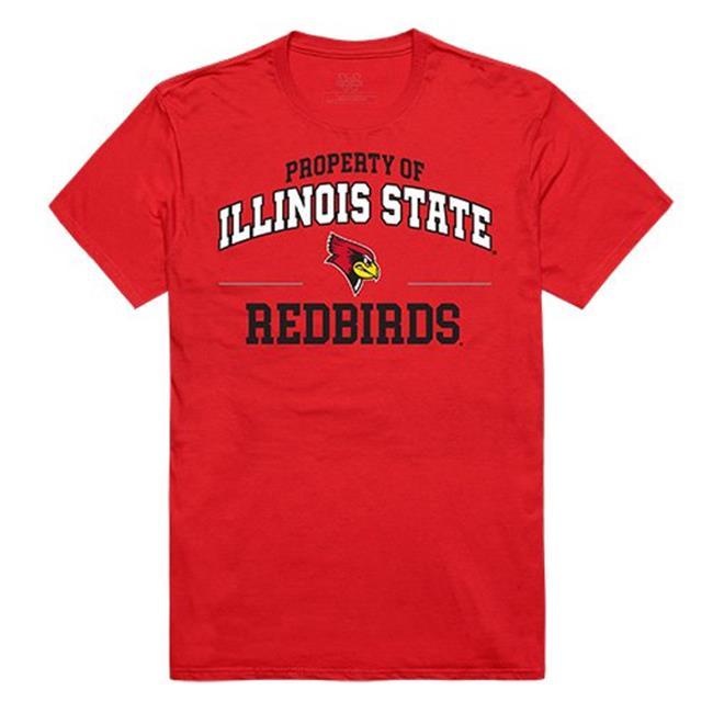 W Republic Apparel 517-124-R58-02 Illinois State University Property College Tee Shirt - Red, Medium - image 1 of 1