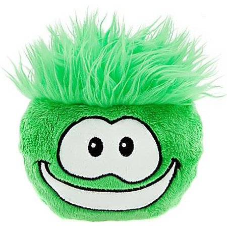 Club Penguin Green Puffle Plush