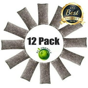 Best Charcoal Air Purifiers - Bamboo Odor Eliminator Bags (50 g) Bamboo Charcoal Review