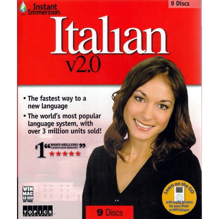 Instant Immersion Italian 2 0   9 Disc Set