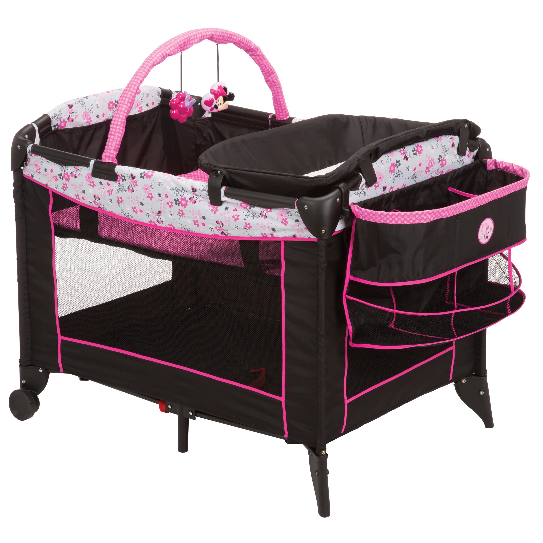 Disney Baby Minnie Mouse Sweet Wonder Play Yard With Carry Bag Walmart Com Walmart Com