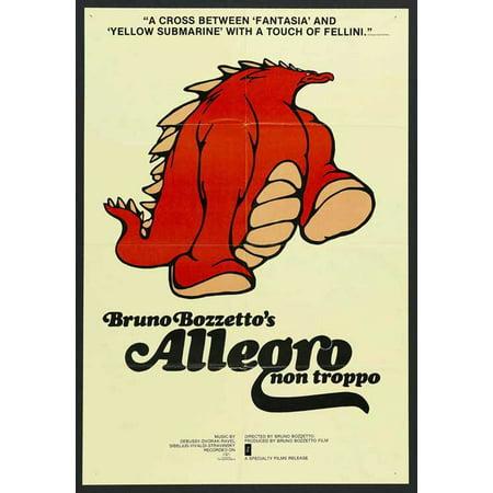 Allegro Single - Allegro non Troppo POSTER Movie Mini Promo