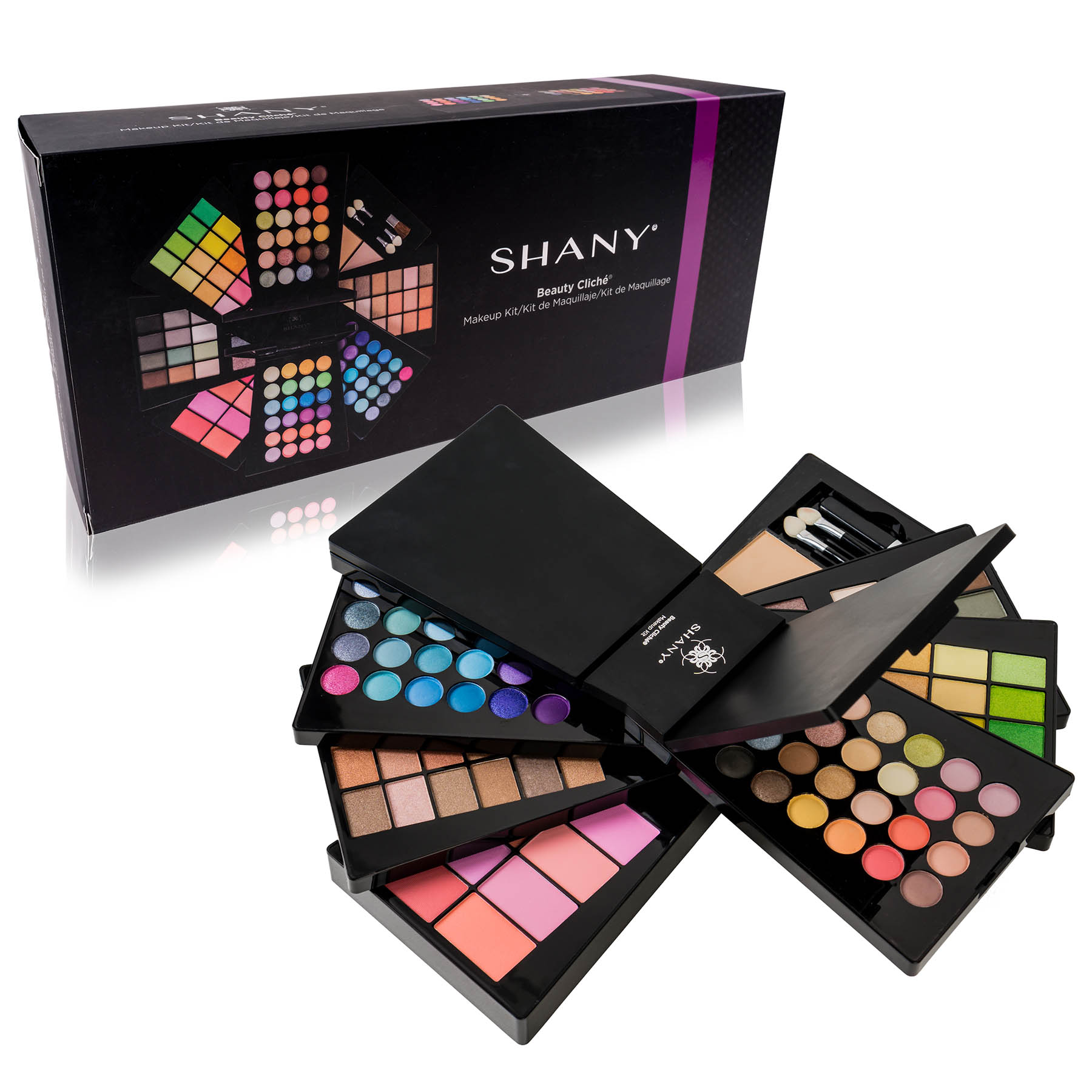 The SHANY Beauty Cliche - Makeup Palette - All-in-One Makeup Set with Eyeshadows, Face Powders, and Blushes - Walmart.com