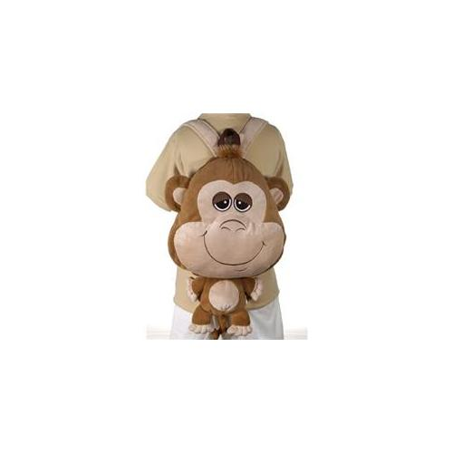DDI 1265359 Happy Kritters - 18 inch Big Head Monkey Case Of 12