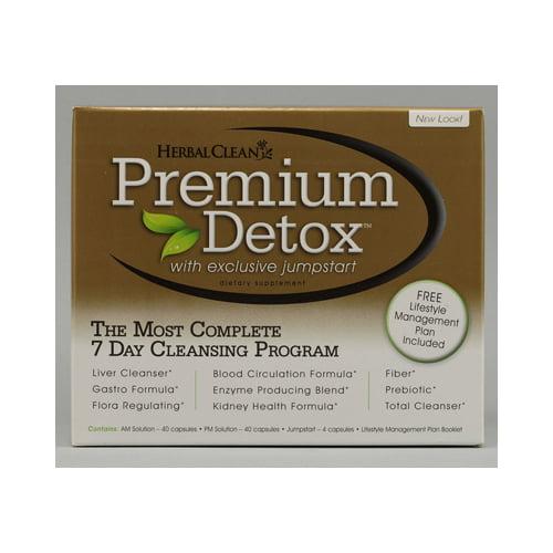 Herbal Clean Premium Detox 7 Day Kit - 1 Kit