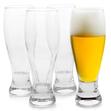 - Pasabahce Enoteca 4 Piece 16.25 oz Pilsner Glass Set
