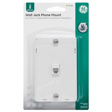 Ge Wall Phone (GE 76294 Wall Jack Phone Mount )