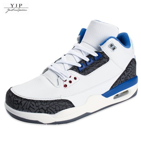 YJP Men's High Top Sneakers Basketball Shoes Sport Athletic