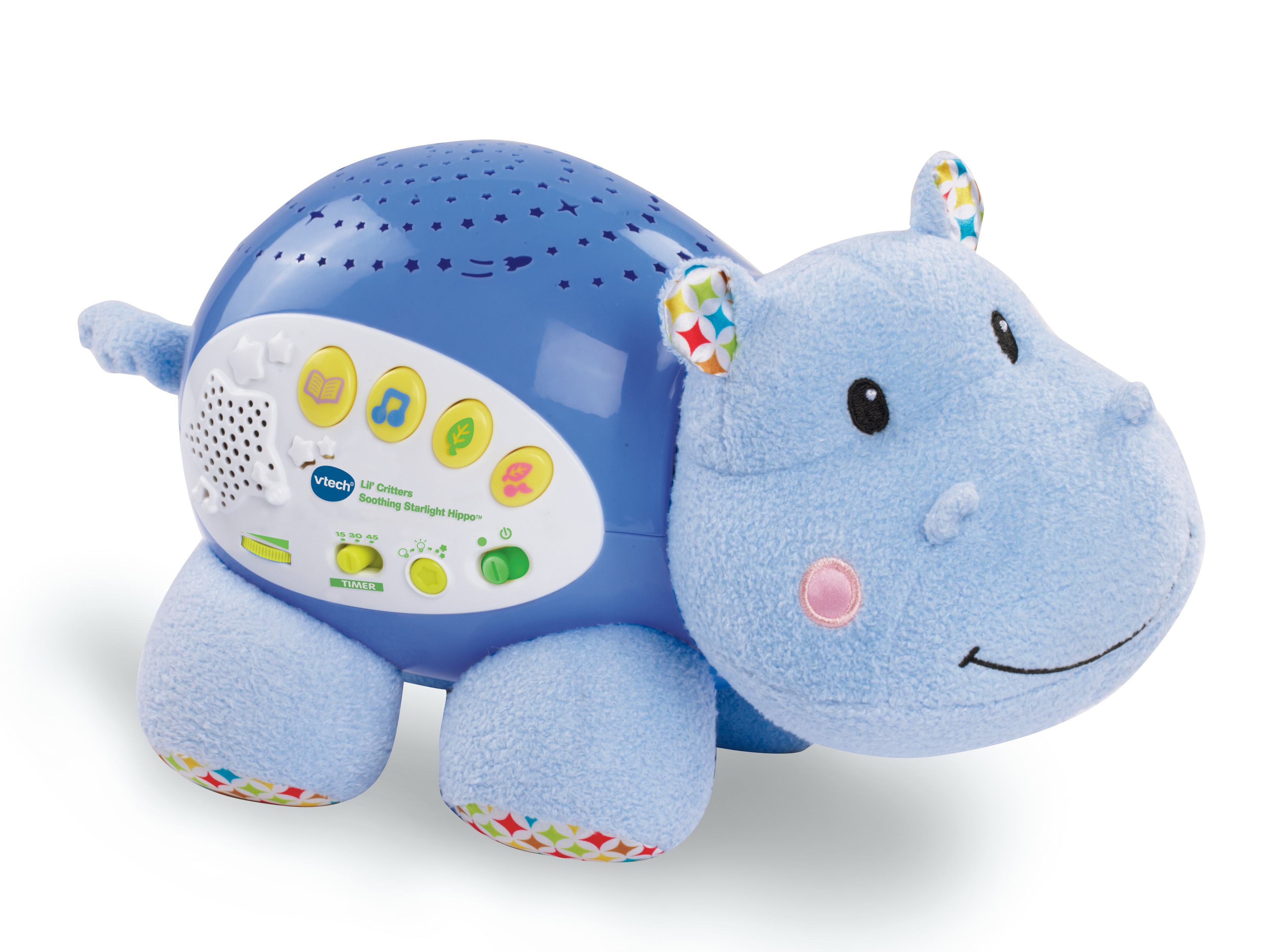 VTech® Lil\' Critters Soothing Starlight Hippo™ - Walmart.com