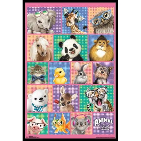 - Animal Club - Group Poster Poster Print