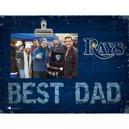 Tampa Bay Rays 8'' x 10.5'' Best Dad Clip Frame - No