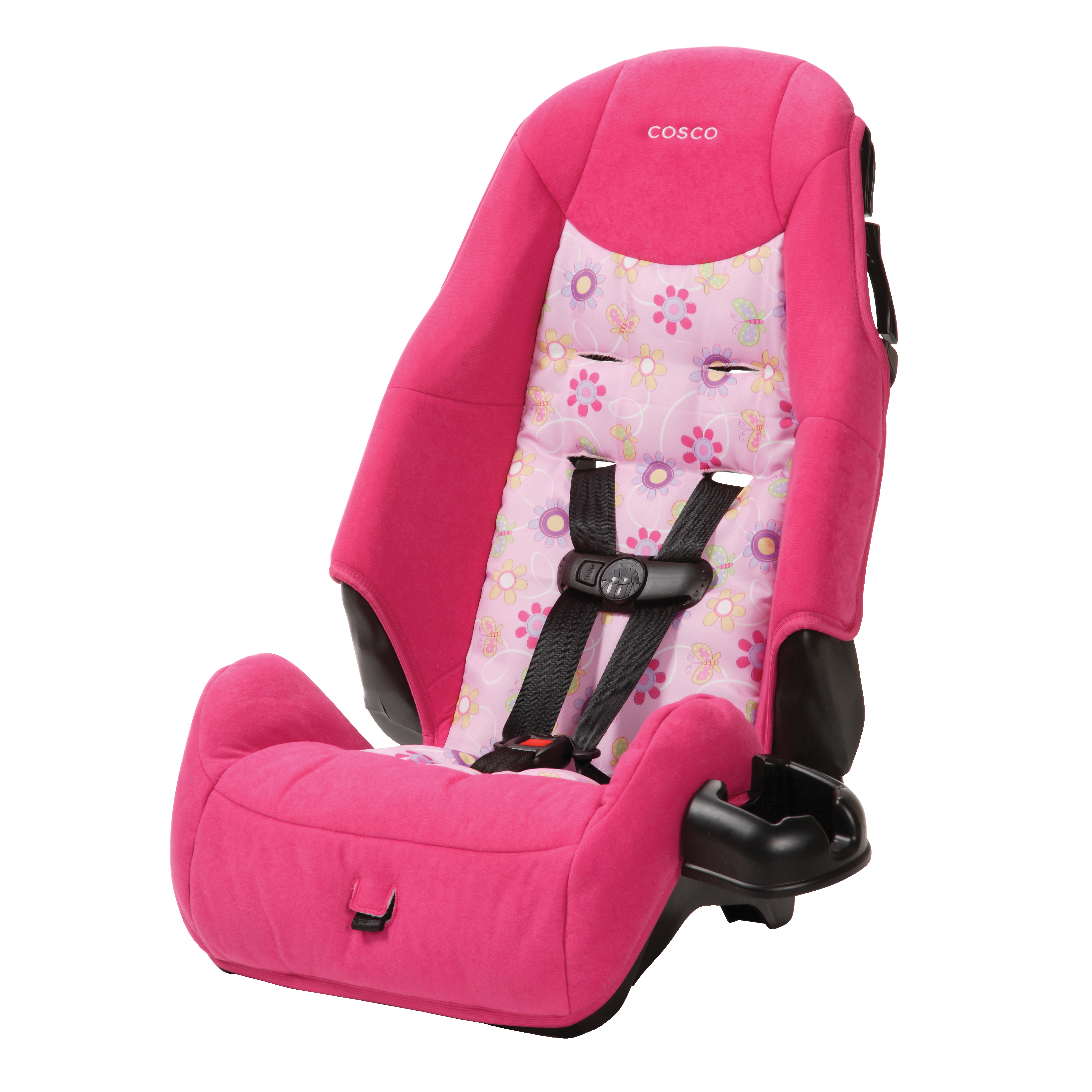 Cosco Highback Booster Car Seat, Pollyana