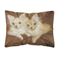 Chihuahua For the Pair Fabric Decorative Pillow