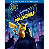 Pokemon Detective Pikachu (Blu-ray + DVD + Digital Copy)