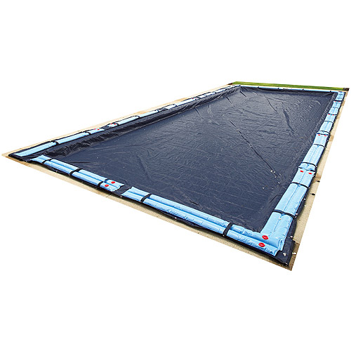 Blue Wave Bronze 8-Year 12' x 24' Rectangular In-Ground Pool Winter Cover