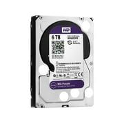 """WD WD60PURX WD Purple WD60PURX 6TB Surveillance 3.5"""" Internal Hard Drive - SATA - 64 MB Buffer - 1 Pack"""