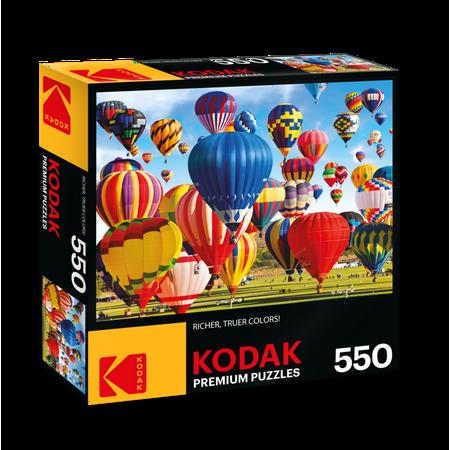 Kodak 550 Piece Jigsaw Puzzle Up Up and Away Hot Air Balloon Festival Fiesta Albuquerque NM](Party City Albuquerque Nm)