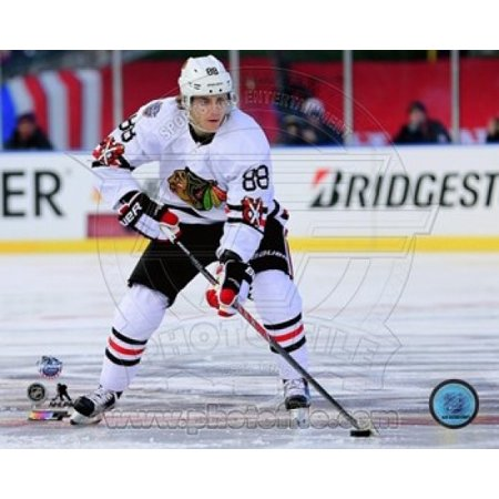 Patrick Kane 2015 NHL Winter Classic Action Sports Photo