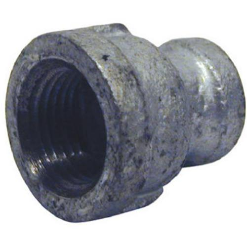 Pannext Fittings G-RCP0302 3/8x1/4 Galv Coupling