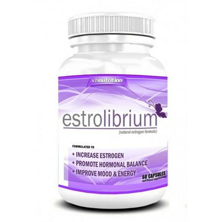 VH Nutrition EstroLibrium Menopause Relief Estrogen Capsules, 60 Ct