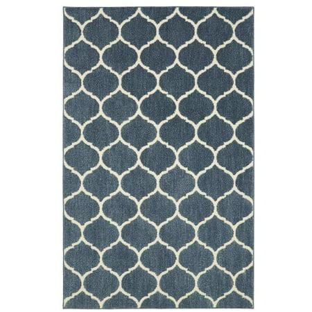 Mohawk Porcelain Tile - Mohawk Home Kalispell Blue Area Rug