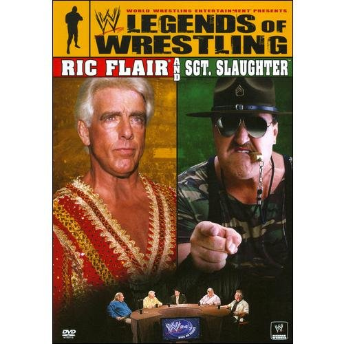 Uni Dist Corp Wwe-legends Of Wrestling-ric Flair & Sgt Slaughter [dvd]