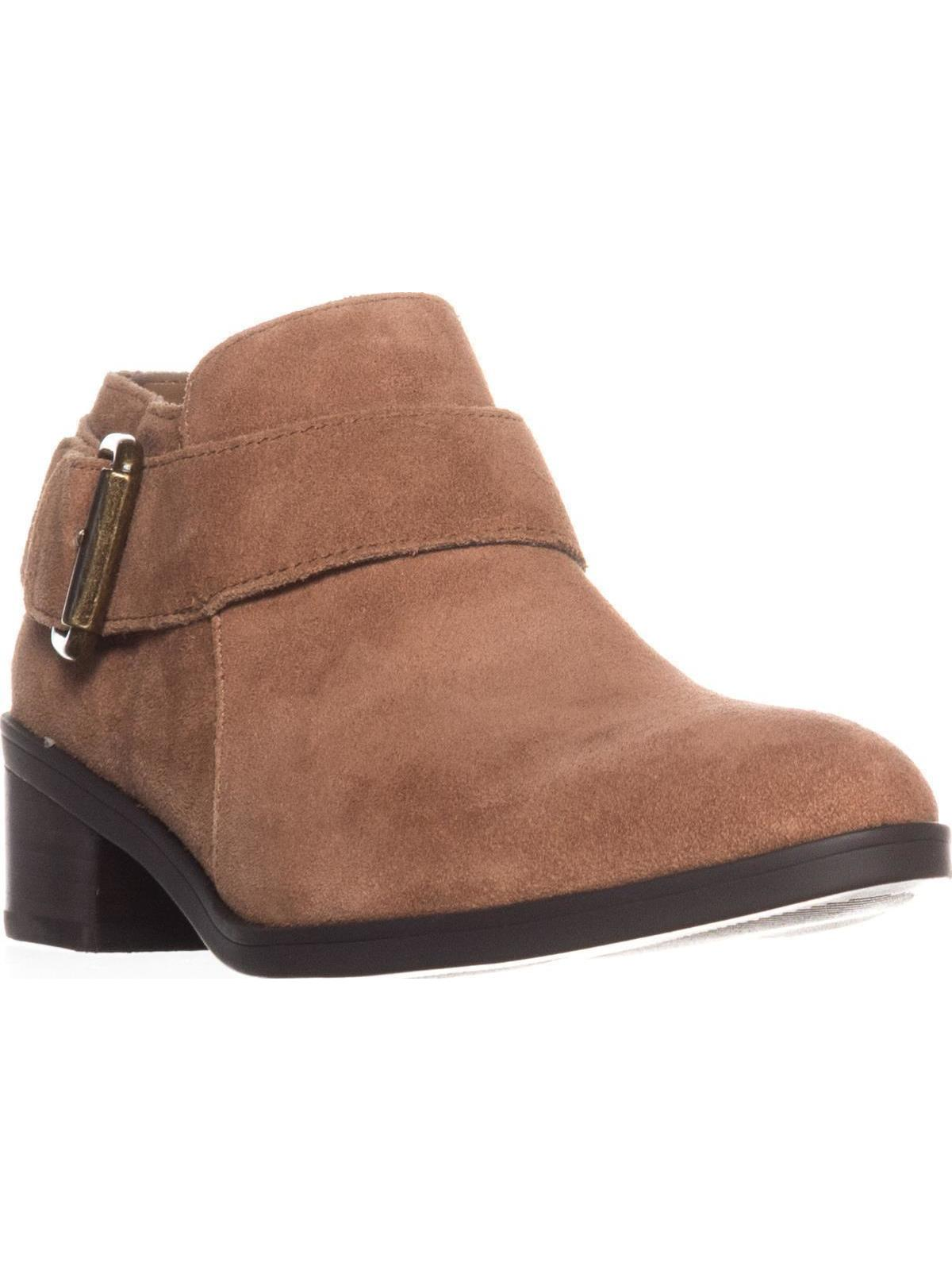 Womens Bella Vita Hadley Block-Heel Ankle Boots, Tan Suede by Bella Vita