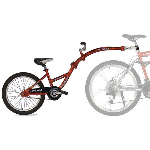 Kent WeeRide Pro-Pilot Tandem Bicycle Trailer- Red