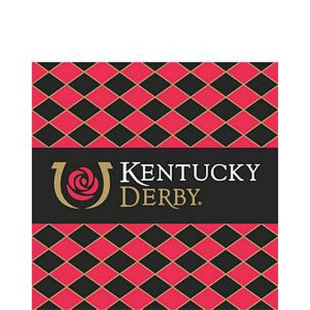 Kentucky Derby Beverage Napkins - 24/pkg. - Kentucky Derby City