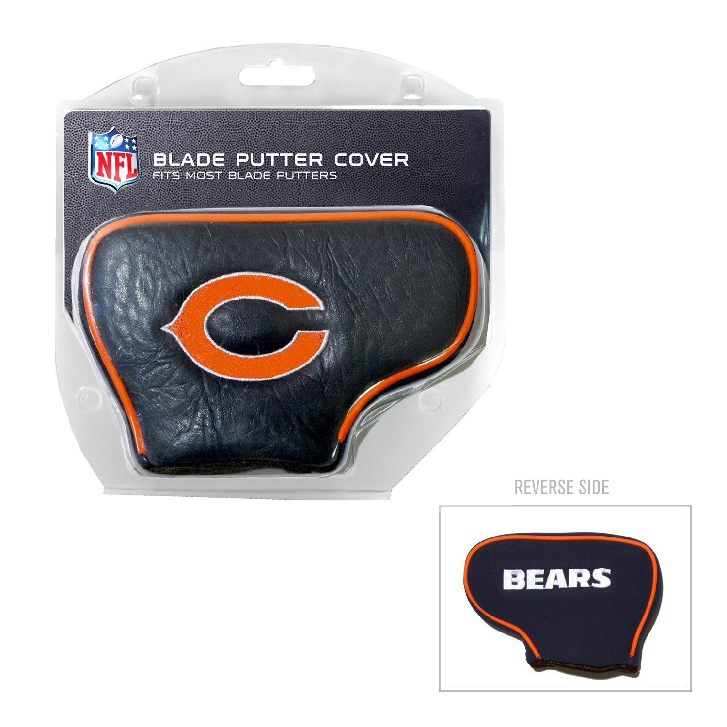 Team Golf NFL Chicago Bears Golf Blade Putter Cover by Generic