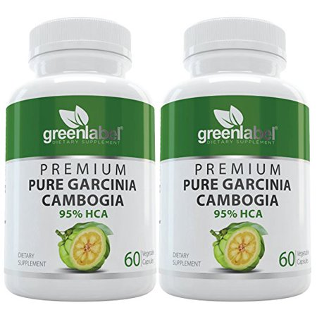 Green Label Garcinia Cambogia Weight Loss Pills With 95 Hca For Men Woman 2 Pack