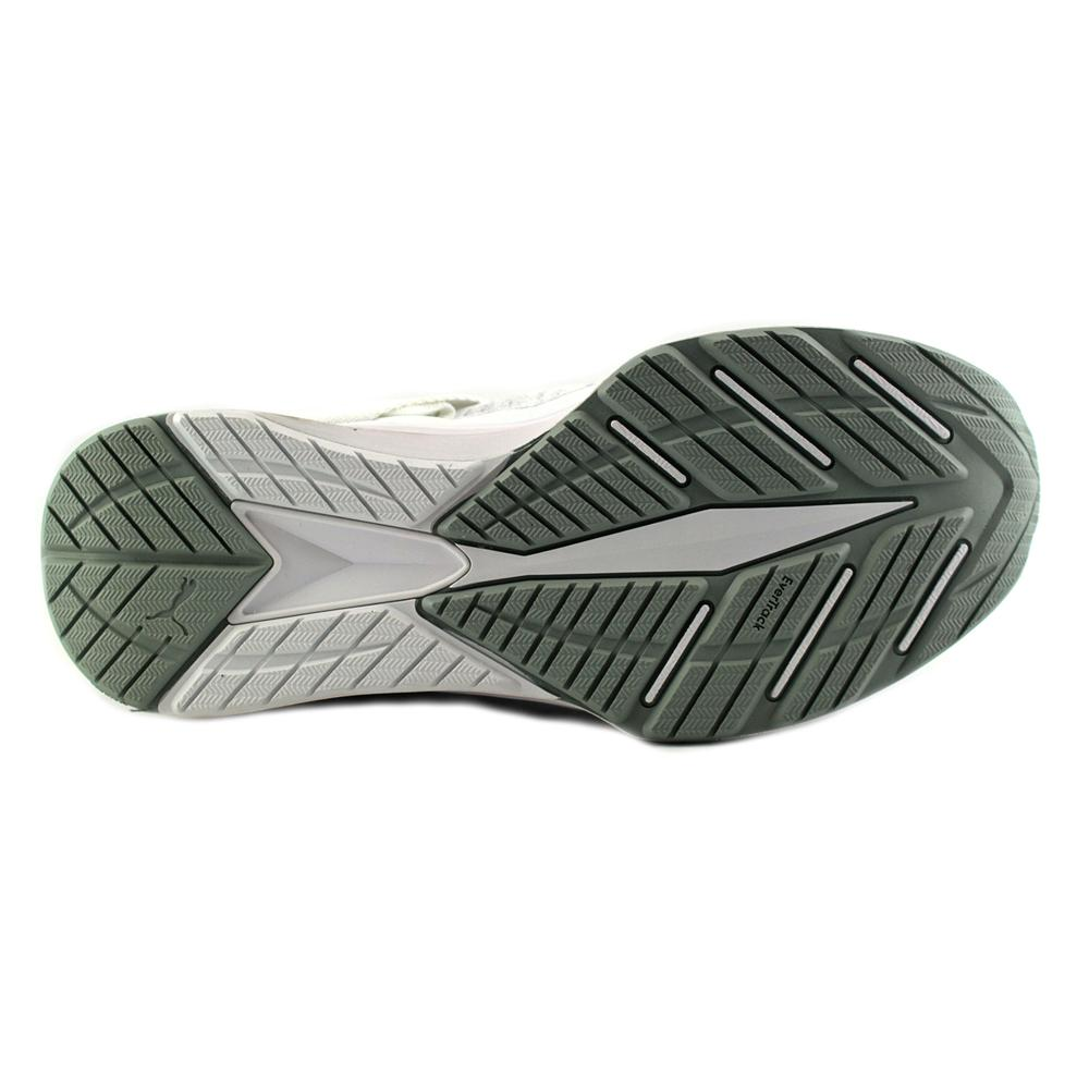 Puma Ignite EvoKnit Shoes White Quarry Gray Footwear 189697