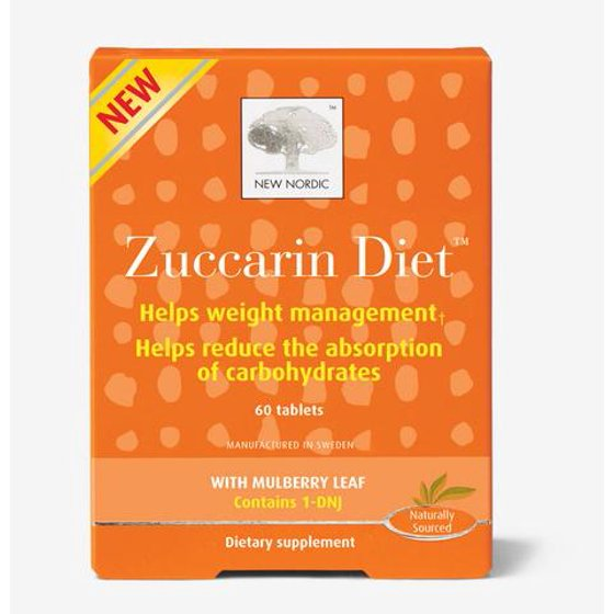 New Nordic Zuccarindiet Carb Blocker Weight Loss Pills 60 Ct