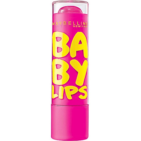 Maybelline New York Baby Lips Moisturizing Lip Balm, Pink Punch, 0.15 Oz