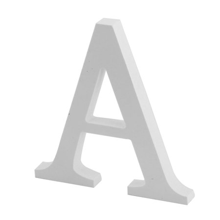 Letter English Alphabet - Wedding Party Home Plywood Decoration English A Letter Alphabet DIY Wall White