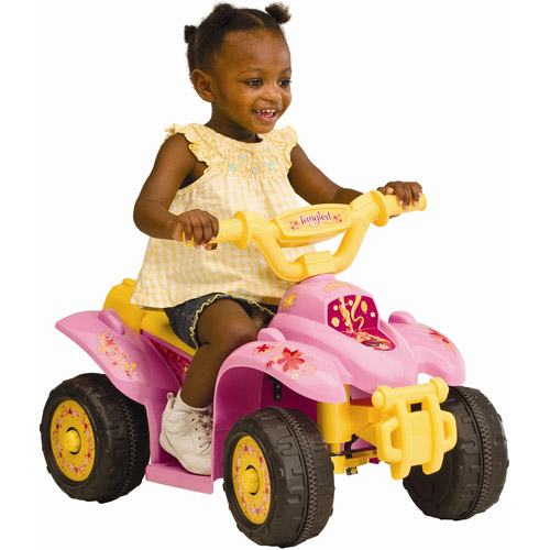 Disney Rapunzel Mini-Quad Battery-Powered Ride-On
