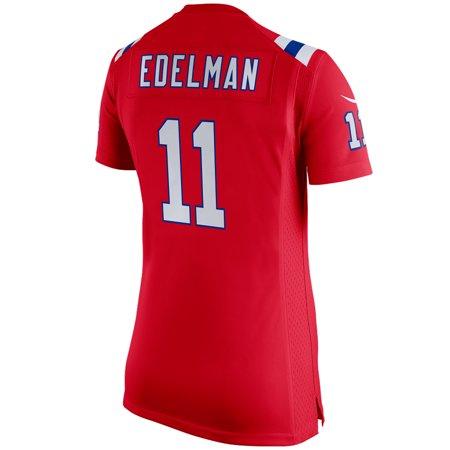 62ab6247 Julian Edelman New England Patriots Nike Women's Super Bowl LIII Bound  Alternate Game Jersey - Red