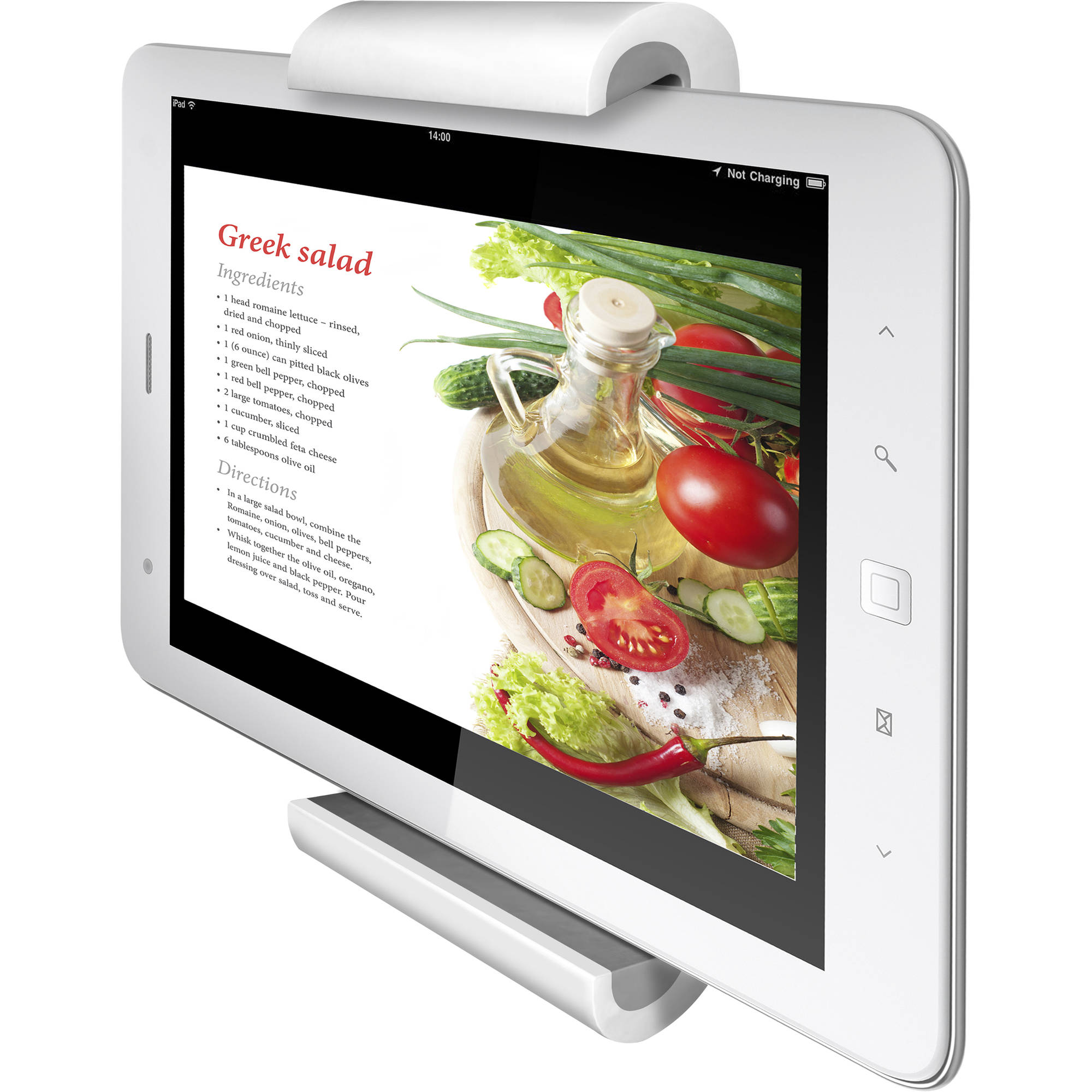 """Barkan T50 Fixed Tablet Wall Mount for 7-12"""" Tablets Up To 2.2 lbs"""