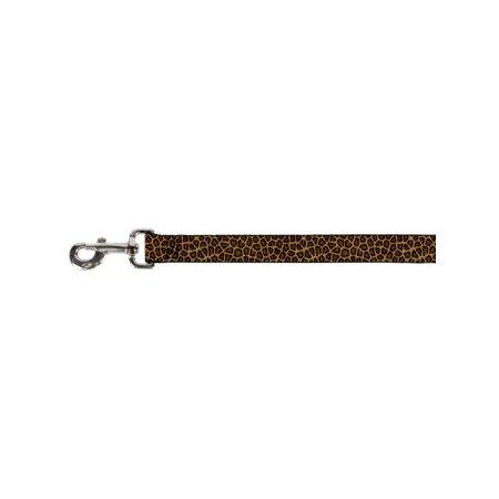 Leopard Leash - Light Brown and Khaki Cheetah Leopard Print Pattern Fun Animal Pet Dog Cat Leash