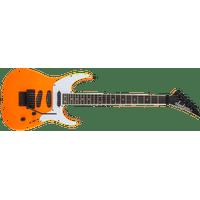Jackson X Series SL4X Soloist Electric Guitar Neon Orange with Floyd Rose NEW